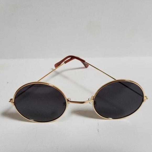 5aaed3ea5b John Lennon Sunglasses Round Shades Gold Frame